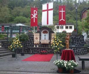 Altar am Albertus-Magnus-Haus