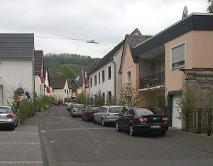 Geschmückte Hauptstraße